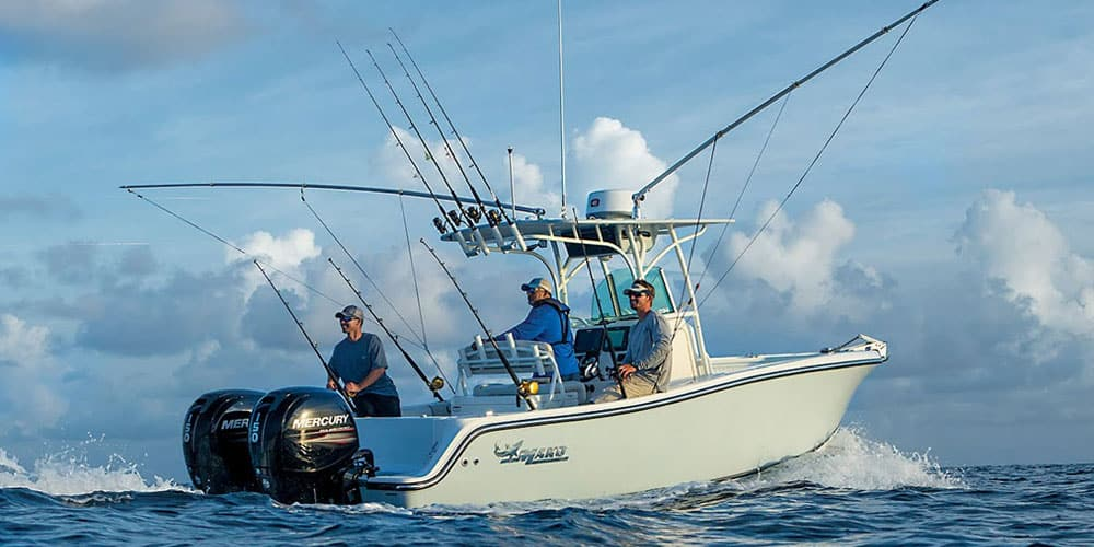 Offshore fishing boats and rods pictures to pin on for Offshore fishing boats
