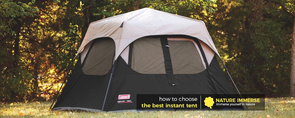 How to choose the best instant tent & Best Instant Tent Reviews (Jan. 2018) - Top 5 Picks and Guide