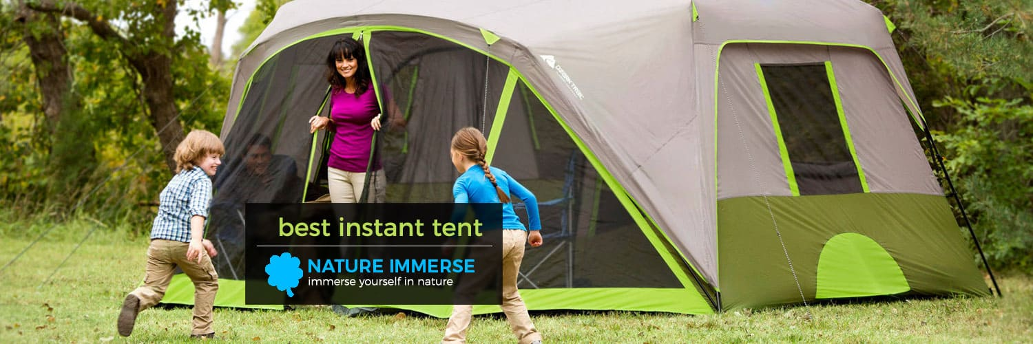 Search & Best Instant Tent Reviews (Jan. 2018) - Top 5 Picks and Guide