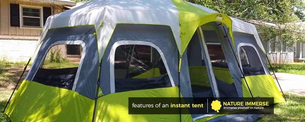 Features of an instant tent & Best Instant Tent Reviews (Jan. 2018) - Top 5 Picks and Guide