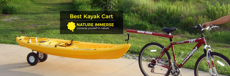 Best kayak cart reviews jan 2018 top 5 picks buyer for Best fishing cart
