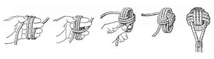 paracord monkey fist instructions